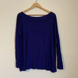 Piko 1988 Long Sleeve Tee Shirt Violet Size Medium